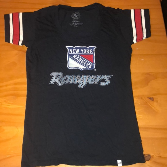 Size Small women s New York Rangers hockey t shirt aa11c13279